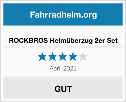 ROCKBROS Helmüberzug 2er Set Test