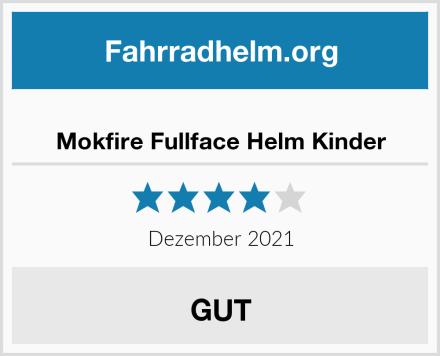 Mokfire Fullface Helm Kinder Test