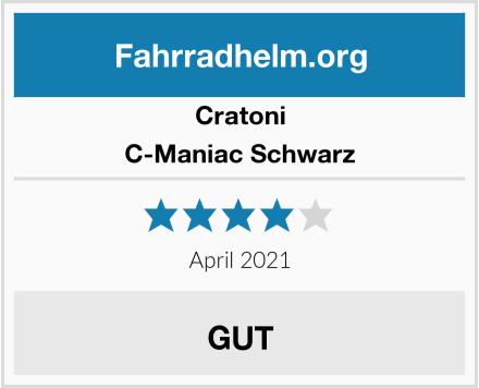 Cratoni C-Maniac Schwarz Test