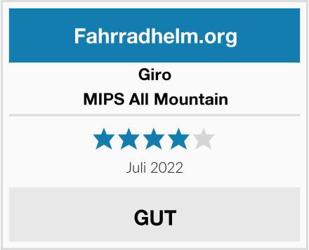 Giro MIPS All Mountain Test