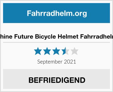 Shine Future Bicycle Helmet Fahrradhelm Test