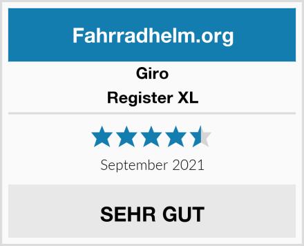 Giro Register XL Test