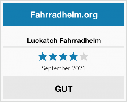 Luckatch Fahrradhelm Test