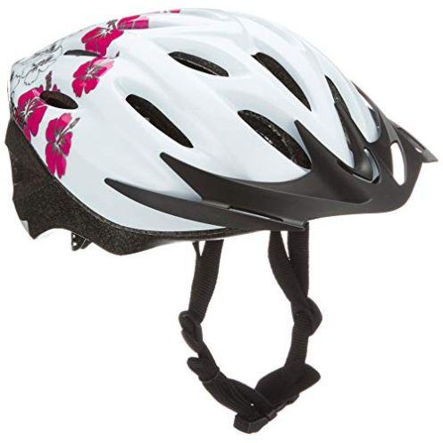 Fischer Erwachsene Fahrradhelm Weiß rosa