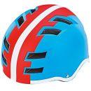 Prophete Fahrradhelm Blau/Rot/Weiß