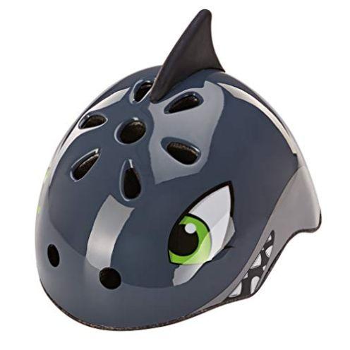 Prophete Unisex Jugend Kinder-Fahrradhelm Tiermotiv: Grauer Hai